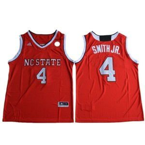 NC State Wolfpack Dennis Smith Jr. Red Jersey